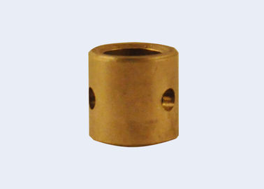 Oil Impregnated Sintered Bronze Bush With CuSn6Zn6Pb3orCuSn10 Base Material