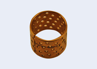 Wear Resistant Wrapped Bronze Bearings For Middle Load And Low Speed