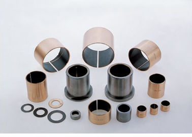High Performance Dry Sleeve Bushing , Oilless Bearing Low Frictional Resistance