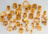 Low Noise Oil Impregnated Brass Sleeve Bearing Excellent Wear Resistance