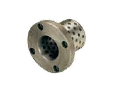 HGB250 Fixed Bronze Flanged Sleeve Bearings Self Lubricating With Graphite