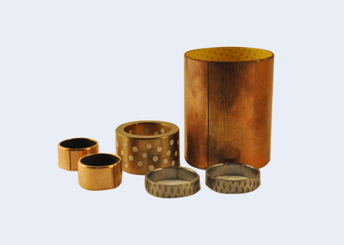 Customized Graphite Impregnated Bronze Bushings Good Corrosion Resistance
