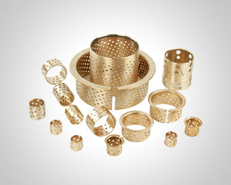 China Machine Parts Wrapped Plain Bearing Bushing , Bronze Gleitlager ISO 9001 Approved factory