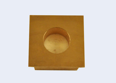 China Long Life Self Lube Wear Plates , Brass Wear Plate Insensitive To Impact Stress factory